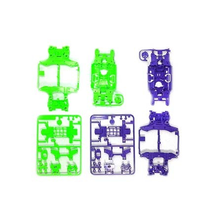 [95234] MS Chassis Set Purple Green
