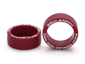 [95116] FC 25th LFLP Tire  2pcs Maroon