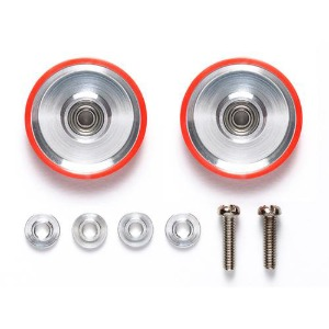 [95580] 17mm Alu BRR Dish w/PRing Red